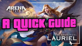 Arena of Valor- Lauriel guide
