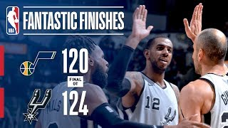 Down To The Final Minutes! Spurs vs Jazz