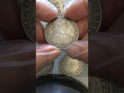 not ancient but old silver coins - generic comparison France, Spain, Russia