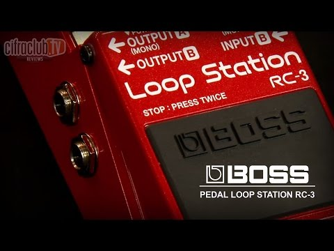 Boss | Review Pedal Loop Station RC3