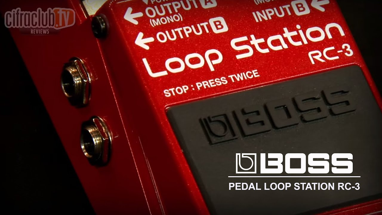 boss review pedal loop station rc3 youtube. Black Bedroom Furniture Sets. Home Design Ideas