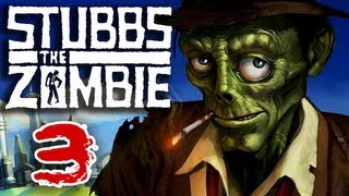 Stubbs the Zombie (Part 3) in Rebel Without a Pulse Xbox 360 Gameplay