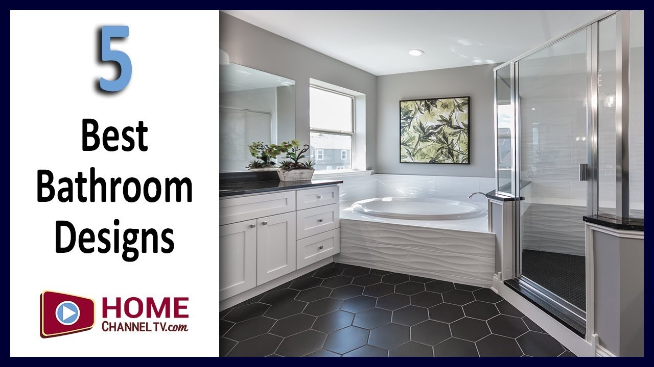 Bathroom Decorating Design Ideas Top 5 Bathrooms From Our Spring 2019 Home Tours Youtube