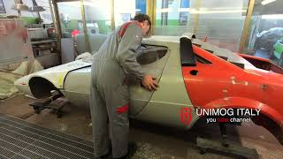 Lancia Stratos Ep.  2 - building experience - Car bodies alignment tests