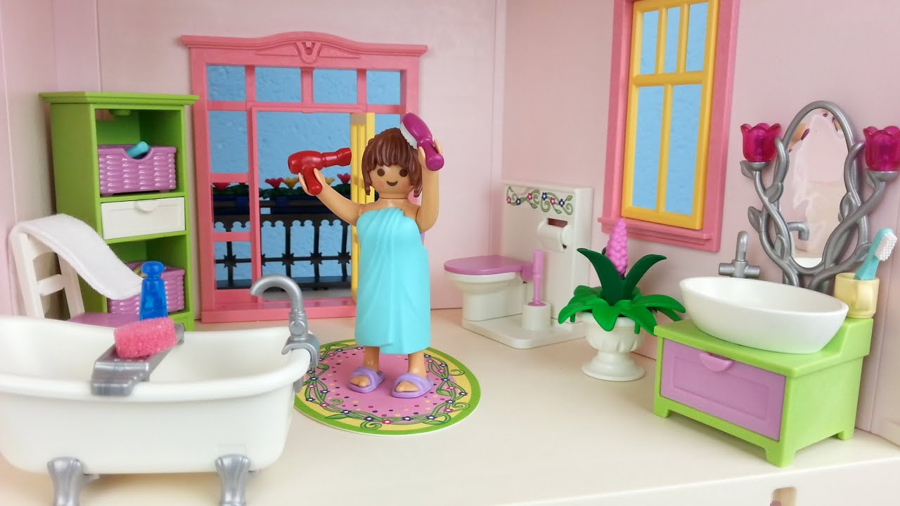 Playmobil Romantik Bad 5307 Für Puppenhaus Auspacken Seratus1 Dollhouse    YouTube