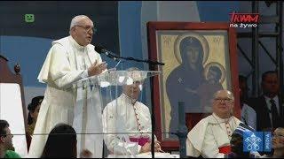 Przemówienie papieża Franciszka wygłoszone podczas otwarcia ŚDM w Panamie