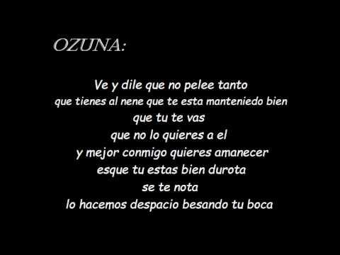 si no te quiere letra - Ozuna ft D.ozi