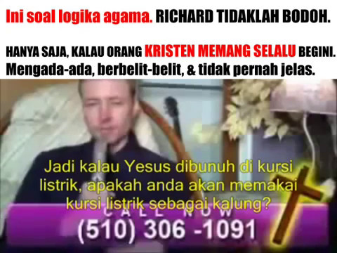 Penelepon Muslim Di Acara TV Kristen ! Pendeta Bingung Tidak Bisa Jawab !