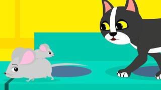 Детская песенка про мышонка Мультик для детеи