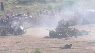 Крымский военно-исторический фестиваль завершился реконструкцией боя за Севастополь