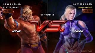 Tekken 6 - King vs Nina Full Fight Scene