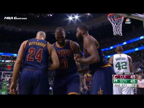 Cleveland Cavaliers vs Boston Celtics   Full Game Highlights   March 1 2017