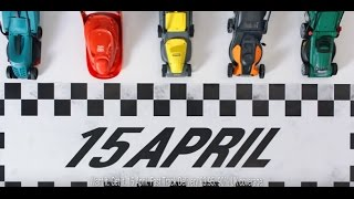 April 15 - Lawnmower Race - #GetItToday at Argos