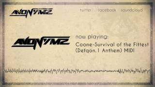 Coone - Survival of the Fittest (Defqon.1 Anthem) MIDI + Download