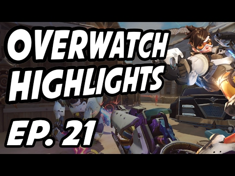 Overwatch Daily Highlights | Ep. 21 | overwatchpit, iddqdow, aimbotcalvin, DSPStanky, Fitzyhere