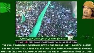 Libya 2011, Gaddafi