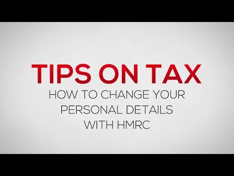 How To Change Your Personal Details With HMRC