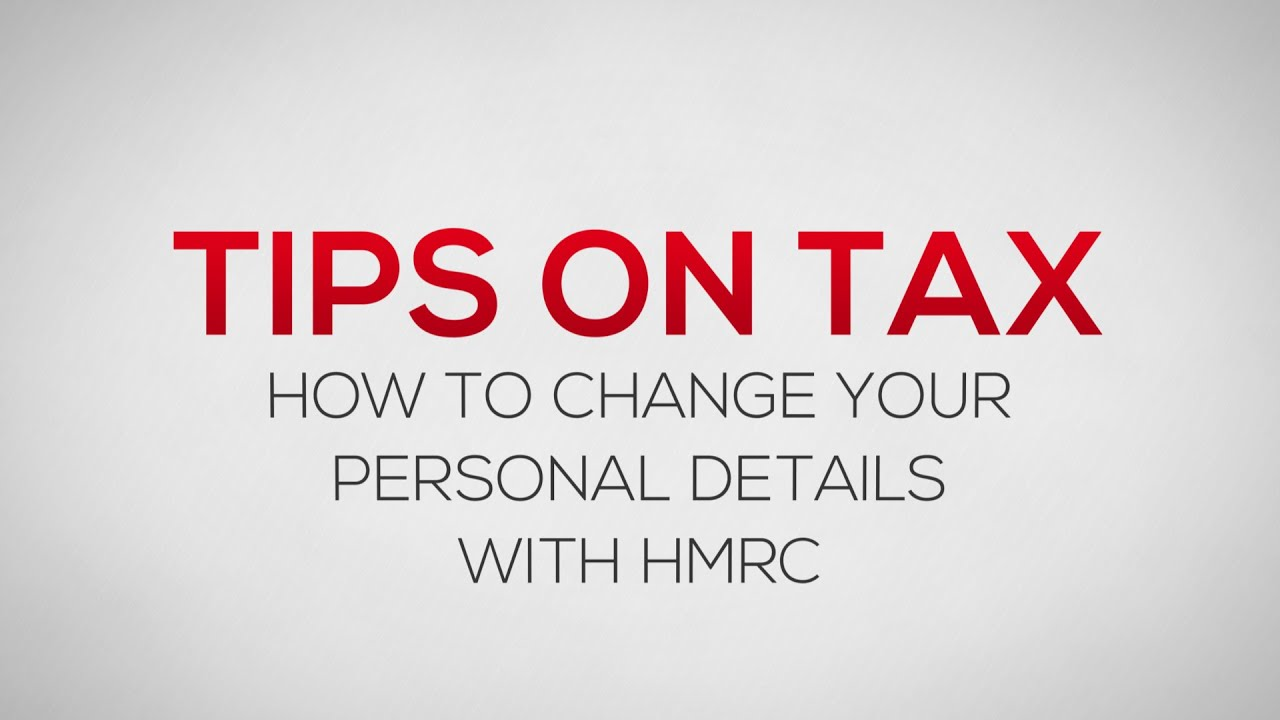 How to change your personal details with hmrc youtube spiritdancerdesigns Images