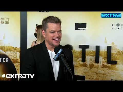Matt Damon Says Hes Happy for Ben Affleck & Jennifer Lopez, Plus: He Talks Stillwater
