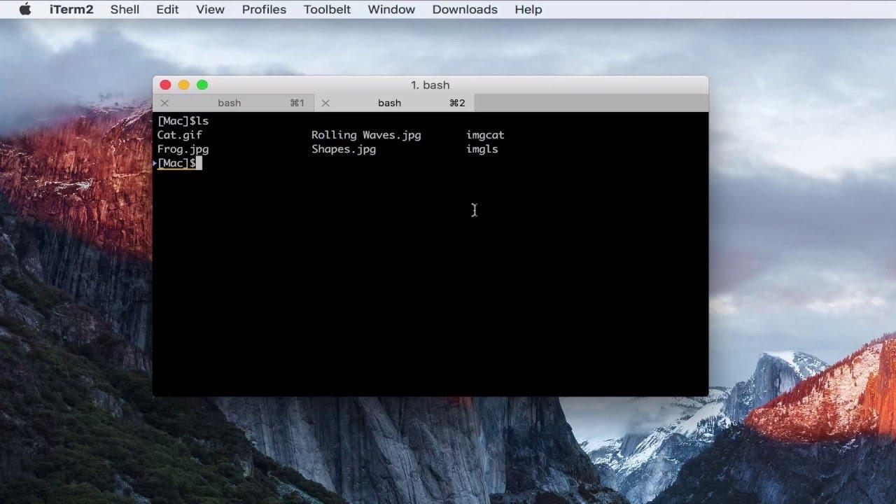 統合シェルやインライン画像機能で便利になった「iTerm2 v3」を使って