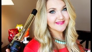 HOW TO: Summer Relaxed Waves| Hair Tutorial♡Hot Tools Curling Iron