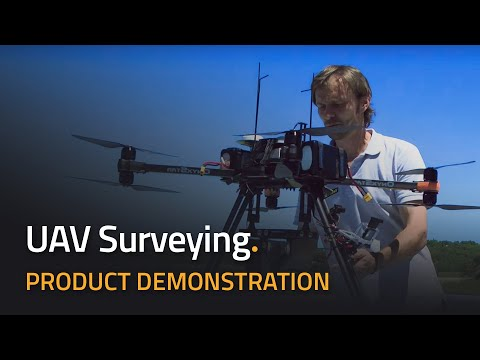 YellowScan's LIDAR for Drone 2016 - UAV Mapping - 5 cm