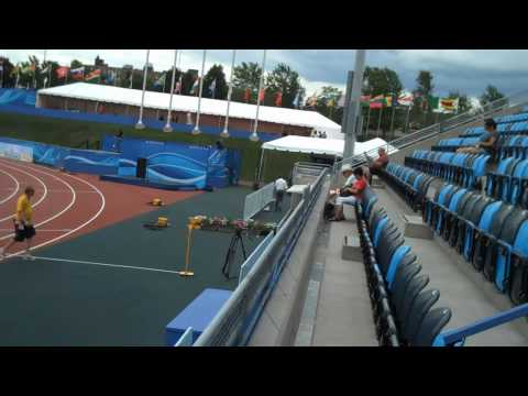 Video Tour of 2010 World Junior Championships Stadium in Moncton, Canada