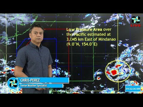 Public Weather Forecast Issued at 4:00 AM November 14, 2018