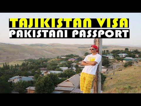 How to Obtain Tajikistan Evisa on Pakistani Passport?