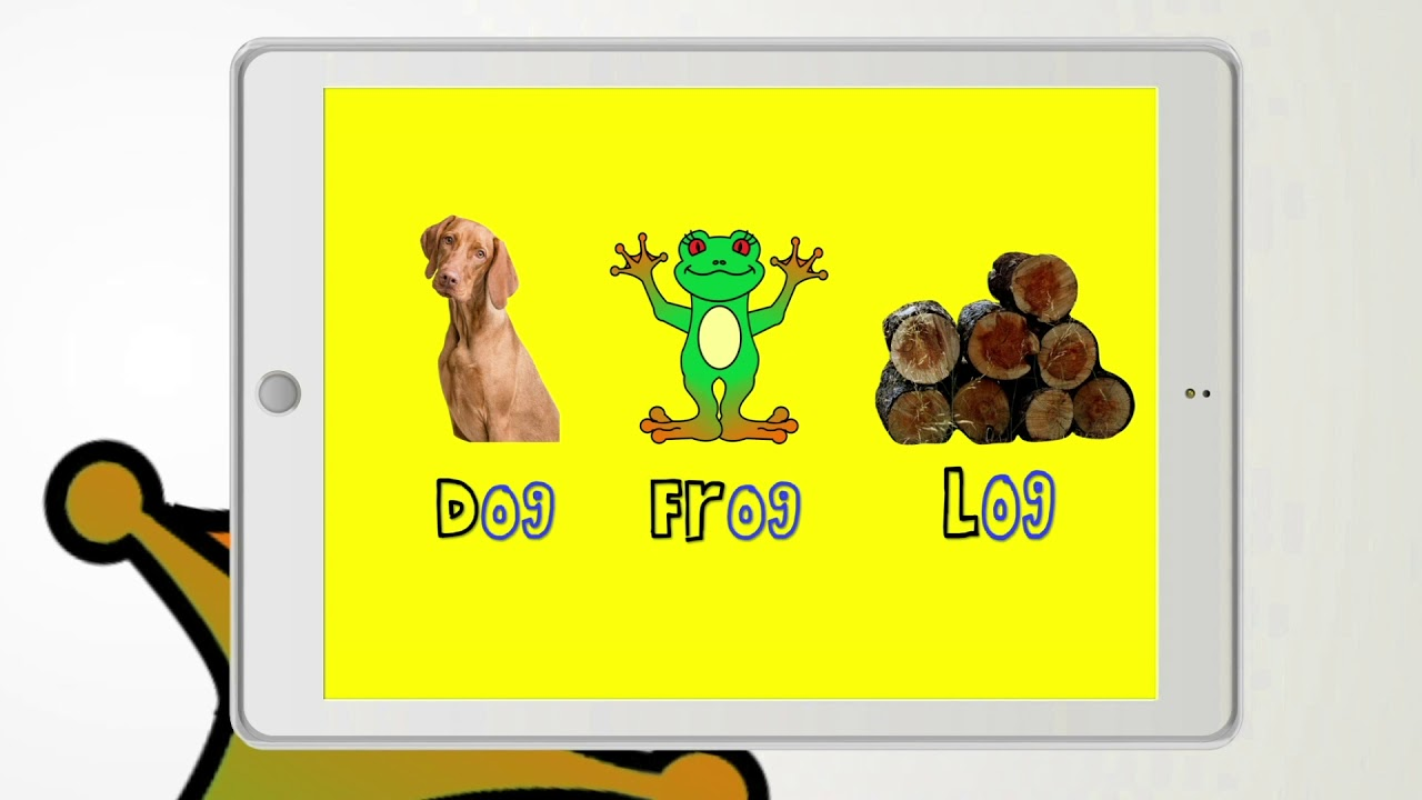 Rhymes with Ruby - Dog, Frog, and Log