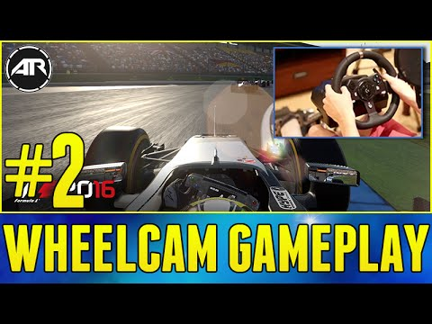 F1 2016 : CAREER MODE GAMEPLAY - BAHRAIN GP Part 2