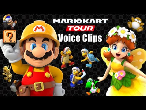 Mario Kart Tour Selectable Character Voices Hammer Bro Tour