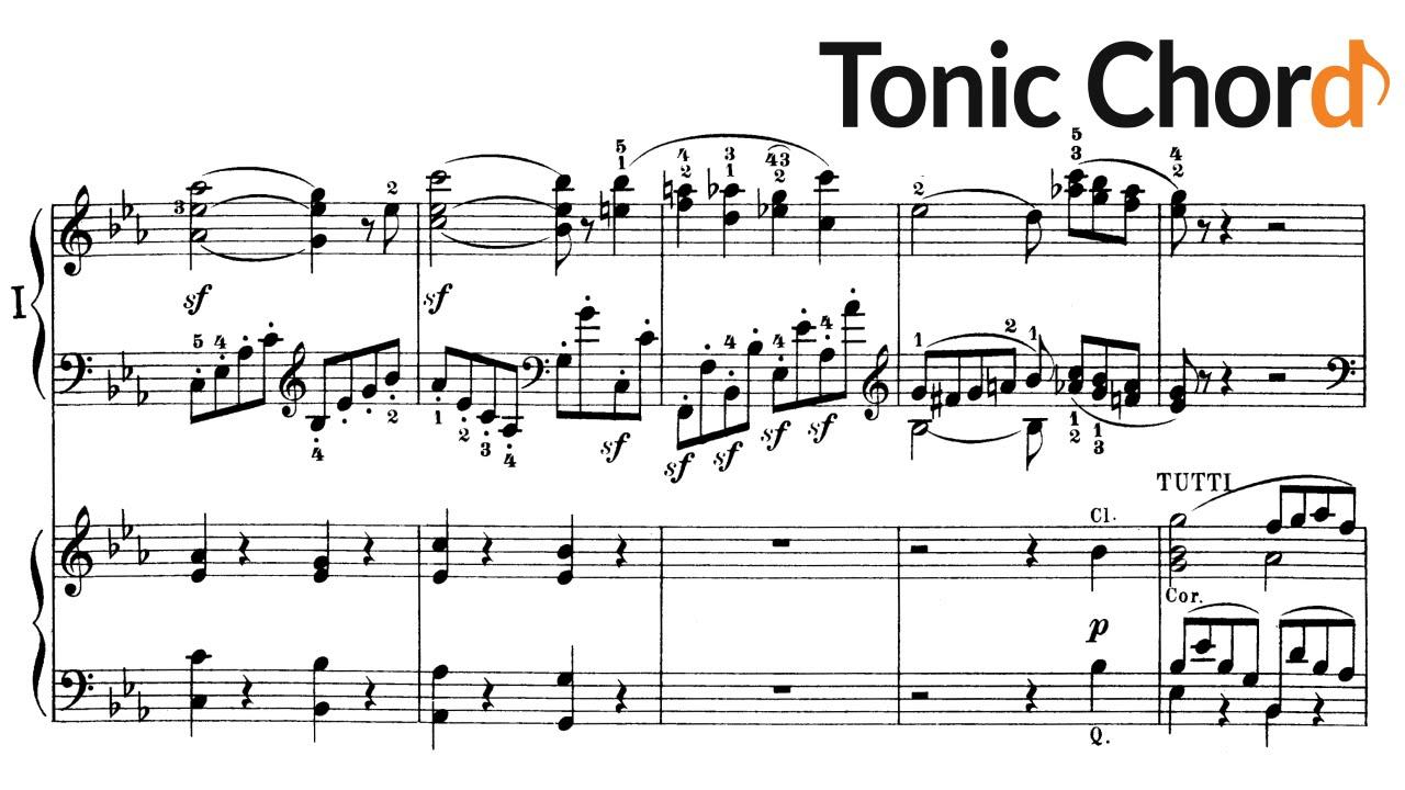 Beethoven - Piano Concerto No.3 in C minor, Op.37 (Accompaniment ...