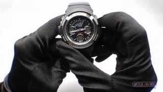 спортивные часы casio g shock aw 590 1aer