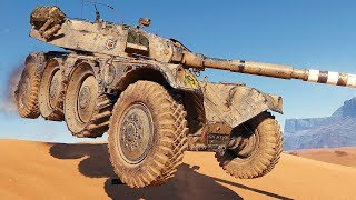 EBR 105 - FREESTYLE DESERT RALLY - WoT Gameplay