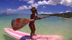Kids How to Standup paddle