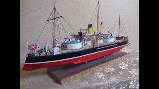 постройка модели корабля Русалка 1886 года