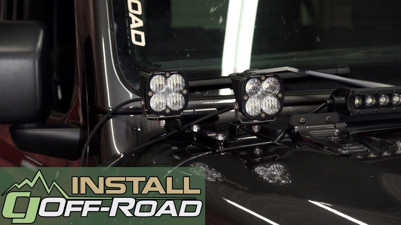 Jeep Wrangler Led Light Bar