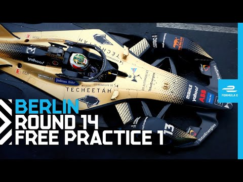2021 BMW i Berlin E-Prix - Race 14   Free Practice 1