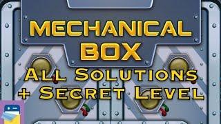 Mechanical Box (M-Box): Levels 1 2 3 4 5 6 7 8 9 10 11 Walkthrough & Solutions + Secret Level