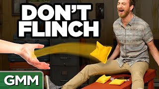 Today we attempt to not flinch. GMM #1108! Check out our new show, Ten Feet Tall, here: http://youtube.com/ThisIsMythical SUBSCRIBE to GMM: ...