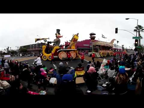 2017 Rose Parade in VR 360