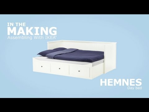Connu IKEA HEMNES Daybed Assembly Instructions - YouTube QM58