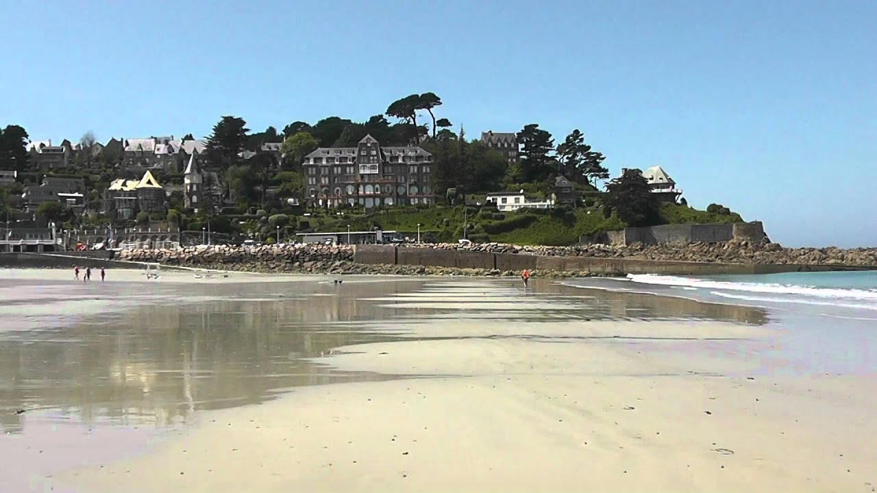 The beach at perros guirec c tes d 39 armor brittany france 24th may 2012 - Architecte cotes d armor ...