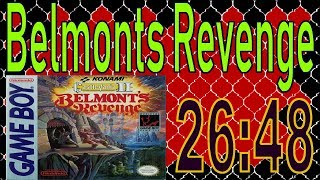 Castlevania II: Belmont's Revenge Any% Speedrun 26:48 [NTSC//PAL]