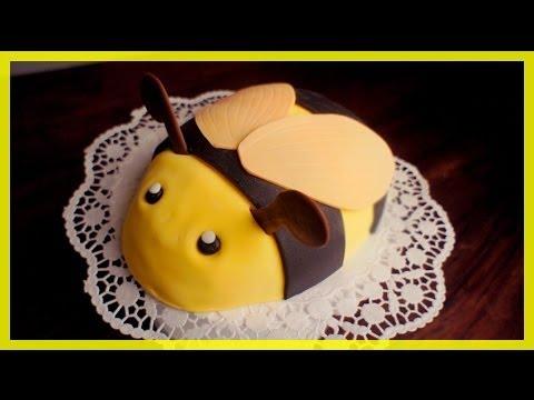 Bienen Torte Kindergeburtstags Bienen Kuchen Von Kuchenfee Youtube
