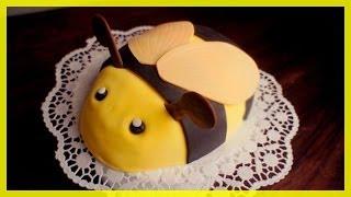 Bienen Torte - Kindergeburtstags Bienen Kuchen - von Kuchenfee