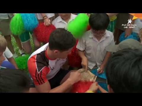 PwC All-Stars Singapore School Visit