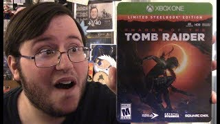 """Shadow of the Tomb Raider """"Limited Steelbook Edition"""" Unboxing"""