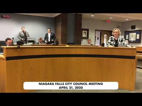 April 21, 2020 Council Meeting